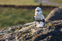 Przykładowy klocek w postaci Star Wars
